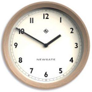 Newgate The General Wall Clock - Light Oak Brown  Gen648lo  Home Accessories, Brown
