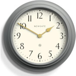 Newgate Westhampton Wall Clock Grey  West117pgy  Home Accessories, Grey