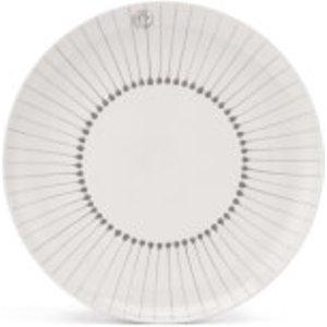 Nkuku Iba Ceramic Plate - Grey - Dinner Plate  IP2702  Home Accessories, Grey