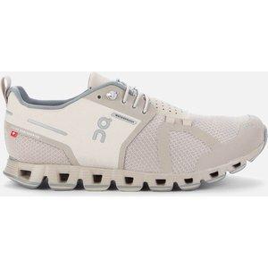 On Women's Cloud Waterproof Running Trainers - Desert/lunar - Uk 7 Grey 19.99679 Shoes, Grey