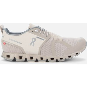On Women's Cloud Waterproof Running Trainers - Desert/lunar - Uk 8 Grey 19.99679 Shoes, Grey