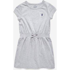 Polo Ralph Lauren Girl's Swing Dress - Grey - 8 Years 837203004 Dresses Childrens Clothing, Grey