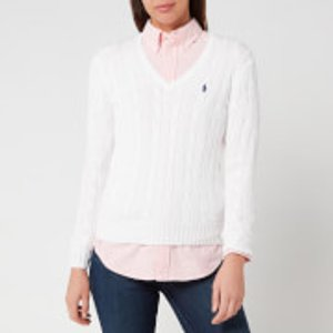 Polo Ralph Lauren Women's Kimberly Jumper - White - Xs - White V39ie168ce149b1e05 Knitwear Womens Clothing, White