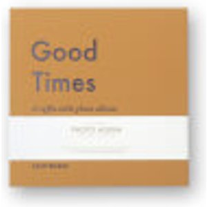 Printworks Good Times Photo Album Book - Small Yellow Pw00298 Home Accessories, Yellow