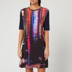Ps Paul Smith Women's Abstract Print Dress - Multi - Xs  W2r 120v Ap1807 49 Dresses Womens Dresses & Skirts, Multi