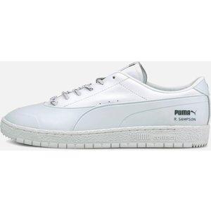 Puma X Maison Kitsune Puma X Maison Kitsuné Men's Ralph Sampson 70 Rubber Kitsune Trainers - Puma White - Uk 8 37564701 Shoes, White