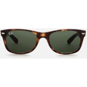 Ray-ban Men's New Wayfarer Sunglasses - Tortoise Green  0RB2132/902  Mens Accessories, Green