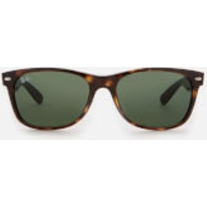 Ray-ban Men's New Wayfarer Sunglasses - Tortoise Green  0RB2132/902L  Mens Accessories, Green