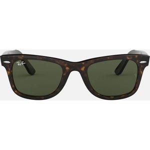 Ray-ban Original Wayfarers Acetate Sunglasses - Tort Frame: Brown Tortoiseshell. Lens: Green. 0rb2140 902 54 Womens Accessories, Frame: Brown Tortoiseshell. Lens: Green.