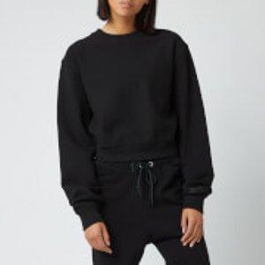 Reebok X Victoria Beckham Women's Cropped Sweatshirt - Black - M  Fq7922 Hoodies And Sweatshirts Mens Sportswear, Black