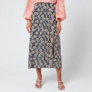 Rixo Women's Georgia Skirt - Wallpaper Floral - Xs Multi  Rix20 012 320 883 Skirts Womens Dresses & Skirts, Multi