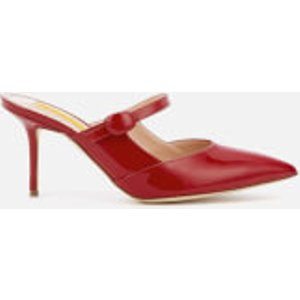 Rupert Sanderson Women's Tosca Patent Leather Heeled Mules - Cerise - Uk 7 - Red  Res19 09 High Heels Womens Footwear, Red
