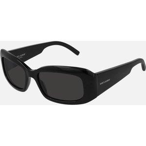 Saint Laurent Women's Rectangle Frame Sunglasses - Black Sl 418 001 Womens Accessories, Black