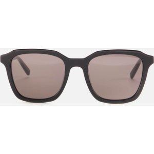 Saint Laurent Women's Square Acetate Sunglasses - Black Frame/lens: Black Sl 457 001 Womens Accessories, Frame/Lens: Black