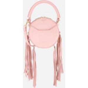 Salar Women's Lea Fringe Cross Body Bag - Pink  Sr18lfbg12  Clothing Accessories, Pink