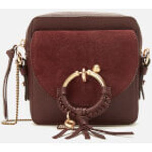 See By Chloé Women's Joan Cross Body Bag - Burgundy Red  Chs19ss994330601  Clothing Accessories, Red
