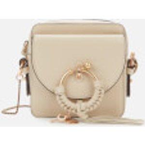 See By Chloé Women's Joan Mini Camera Bag - Cement Beige Cream Chs20us99438824h Clothing Accessories, Cream