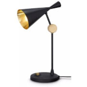 Tom Dixon Beat Table Lamp - Black Metallic  BLT01EU  Home Accessories, Metallic