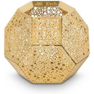 Tom Dixon Etch Tea Light Holder - Brass Metallic  ETT02B  Home Accessories, Metallic