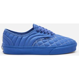 Vans X Opening Ceremony Authentic Quilted Trainers - Baja Blue - Uk 5 Vn0a5hv3zq0 Womens Footwear, Blue