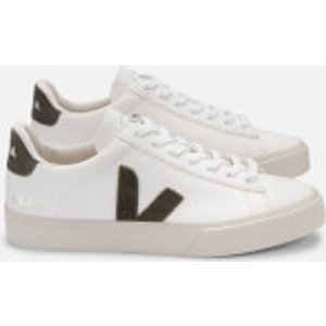 Veja Women's Campo Chrome Free Leather Trainers - Extra White/khaki - Uk 7 Cp052347a Womens Footwear, White