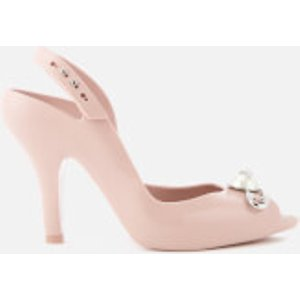 Vivienne Westwood For Melissa Women's Lady Dragon 19 Heeled Sandals - Blush Pin - Uk 4 - P Pink  32265 1276 High Heels Shoes, Pink