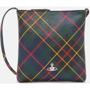 Vivienne Westwood Women's Derby Square Cross Body Bag - Hunting Tartan Multi  5202000110256MOO205  Clothing Accessories, Multi