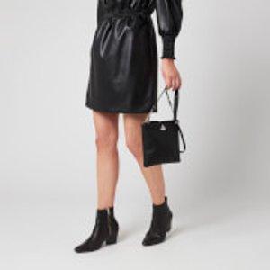 Vivienne Westwood Women's Johanna New Square Cross Body Bag - Black  51160005 01229 Pf  Clothing Accessories, Black