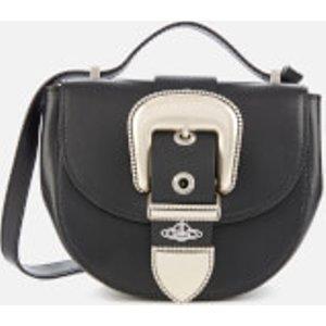 Vivienne Westwood Women's Rodeo Small Saddle Bag - Black  41010053 41503 La  Clothing Accessories, Black