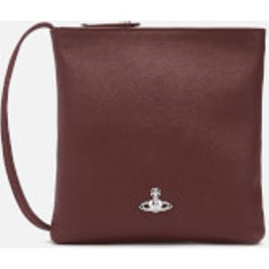 Vivienne Westwood Women's Victoria Square Cross Body Bag - Burgundy  5202000140565moi402  Clothing Accessories, Burgundy
