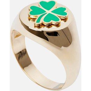 Wilhelmina Garcia Women's Clover Ring - Gold - Eu 50 Blm013 Womens Jewellery, Gold