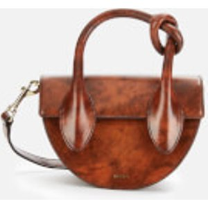Yuzefi Women's Dolores Cross Body Bag - Smooth Marble Brown  YUZA19 DL 01  Clothing Accessories, Brown