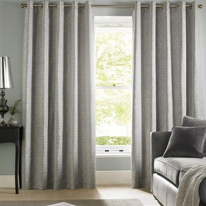 Ashley Wilde Cairo Ready Made Lined Eyelet Curtains Silver 421539807272 Aw/rmc/cairo/silver 0277