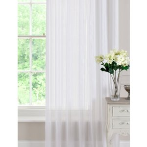 Pavilion Ready Made Curtains Denby Voile Curtain Panel White Pv/rmc/denby/wht 2018