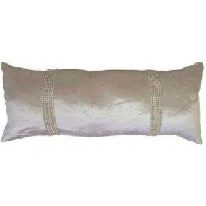 Ashley Wilde Cushions & Throws Kylie Minogue - Hotel Filled Boudoir Cushion Praline 4333466550366 Aw/cc/hotel/praline/25x60