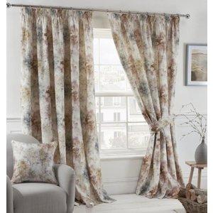 Gordon John Prestigious Textiles - Woodland Ready Made Lined Curtains Blush Gj/rmc/woodland/blush 0035