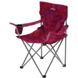 Isla Lightweight Folding Camping Chair Pink Tropical Regatta