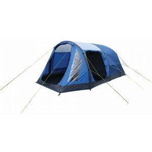 Kolima 5-man Inflatable Family Tent Laser Blue Ebony Grey Regatta