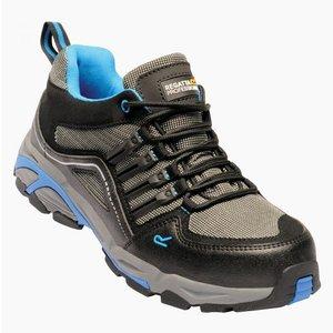 Men's Convex Steel Toe Cap Safety Trainers Black Oxford Blue Regatta