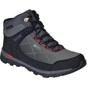 Men's Highton Stretch Waterproof Walking Boots Briar True Red Regatta