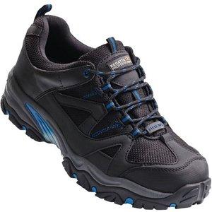 Men's Riverbeck Steel Toe Cap Safety Trainers Black Oxford Blue Regatta
