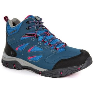 Women's Holcombe Iep Mid Walking Boots Moroccan Blue Duchess Regatta