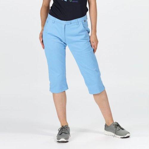 Women's Maleena Ii Casual Capri Trousers Blue Skies Regatta