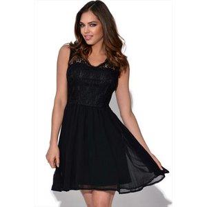 Girls On Film Black Lace Dress Vestry Online 4503
