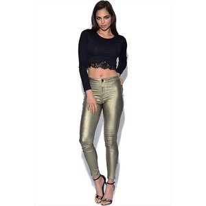 Girls On Film High Waisted Disco Trousers Vestry Online 4578