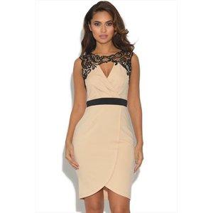 Little Mistress Baroque Lace Wrap Dress Vestry Online 4523