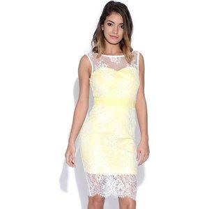Paper Dolls Lace Bodycon Dress Vestry Online 5202