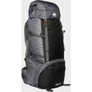 Eurohike Trek 85l Backpack - Grey, Grey 43454 Bags, Grey