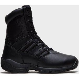 Magnum Men's Panther Side Zip Industrial Work Boots - Black, Black 30055 Womens Footwear, Black