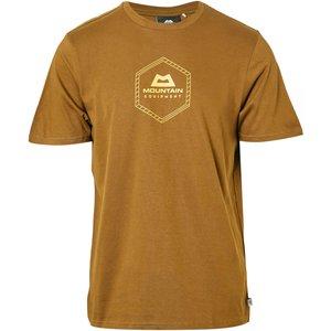 Mountain Equipment Men's Hex Logo Tee - Yellow/khk, Yellow/khk 16048893 Mens Tops, Yellow/KHK